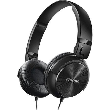 Fone de Ouvido Estilo DJ com Graves Nítidos SHL3060BK/00 Preto Philips