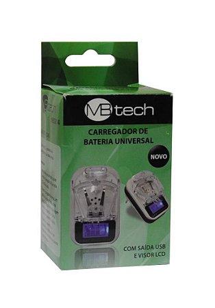 Carregador de Bateria Universal MBTech MB2014