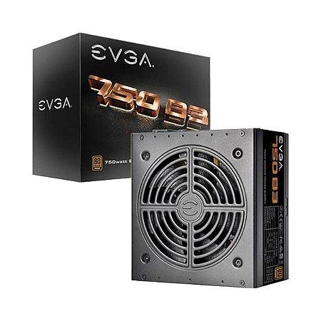 Fonte Atx 750w 80 Plus Bronze Modular - EVGA 220-B3-0750-v1