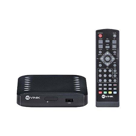 Conversor Digital e Gravador com USB e Controle Remoto Vinik - CDV-1000
