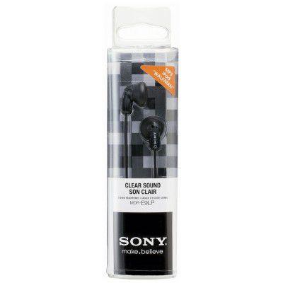 Fone de Ouvido Sony MDR-E9LP/B Preto