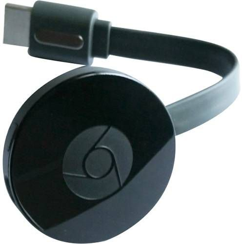 Chromecast 2 Google Wi Fi /HDMI - Preto