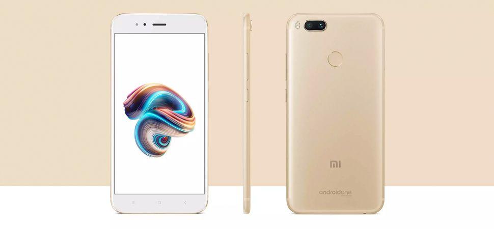 Smartphone Xiaomi Mi A1 Gold 64gb 4gb Ram