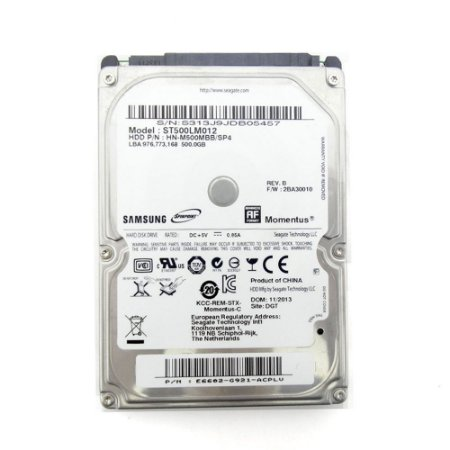 HD para notebook 500gb Samsung sn
