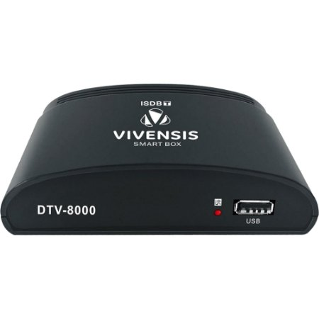 Conversor Digital Vivensis DTV 8000 Preto