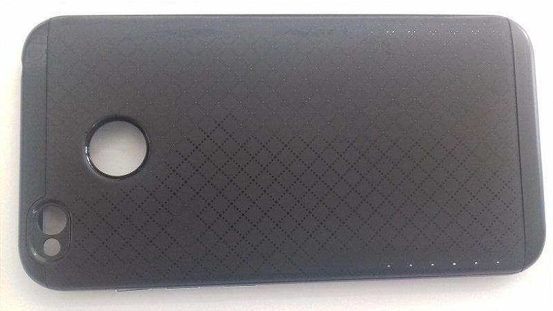 CAPA Xiaomi Redmi 4X Tela 5.0  com borda Preta