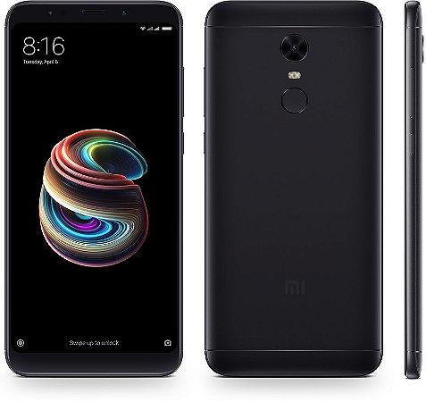 "Smartphone Xiaomi Redmi 5 Black 32gb 3gb Ram Tela 5,7"""