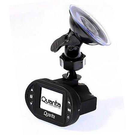 """Câmera Automotiva Quanta QTADV505 VGA com Tela de 1.5"""" – Preta"""
