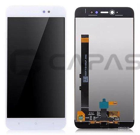Display completo Xiaomi Redmi Note 5A Prime branco