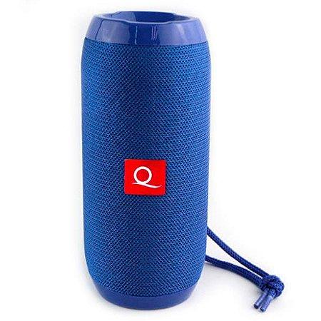 Caixa de Som Bluetooth Quanta QTSPB-33 Azul