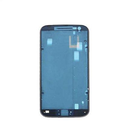 Carcaça Aro lateral Motorola Moto G4/G4 Plus com botões Preto
