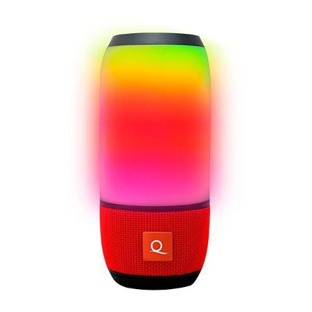 Caixa de Som Bluetooth Quanta QTSPB-36 Vermelha