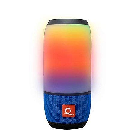 Caixa de Som Bluetooth Quanta QTSPB-36 Azul