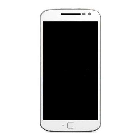 Troca Display completo Moto G4 Plus Branco com aro sn