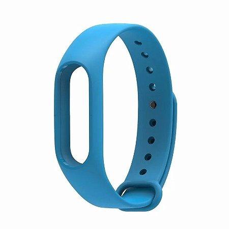 Pulseira para Smartband Xiaomi Mi Band 2 Azul Claro