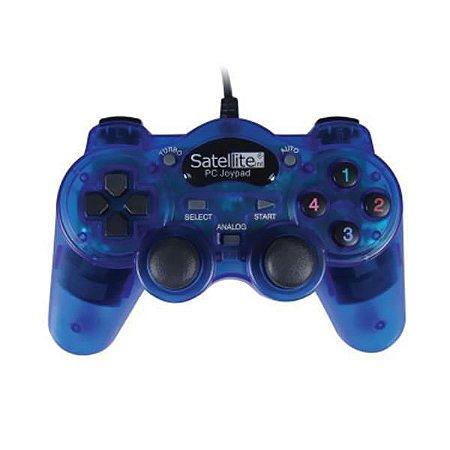 Controle Para Pc Satellite A-hg650 Usb - Azul