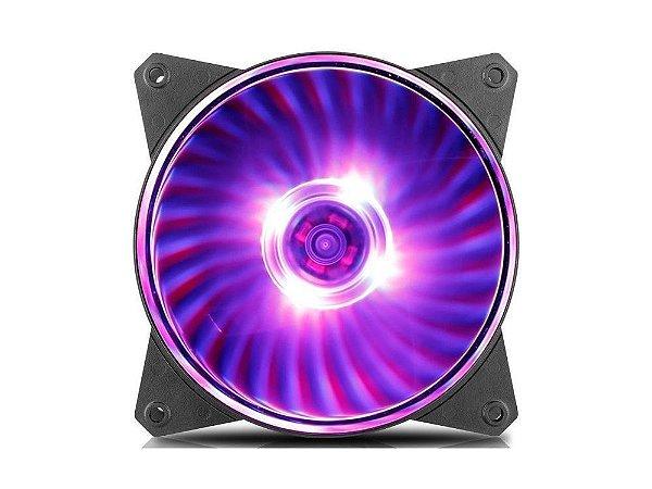 Cooler Fan para Gabinete Masterfan 120mm MF120L RGB - R4-C1DS-12FC-R1