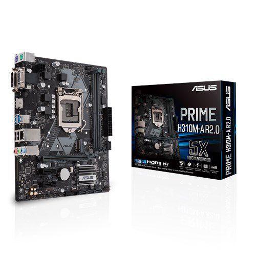 Placa Mãe Asus Intel H310M-E R2.0 Socket 1151