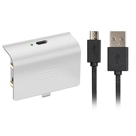 Bateria para Controle Xbox One Branco MRA-566