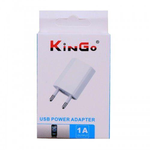 Carregador USB 1A branca - Kingo