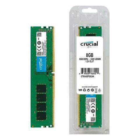 Memória Crucial 8gb Ddr4 2400MHZ CT8G4DFS824A