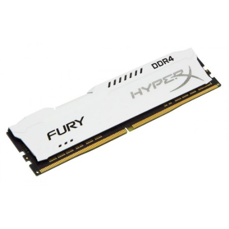 Memória Kingston HyperX 8GB DDR4 2400Mhz HX424C15FW2/8 White