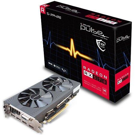 Placa de vídeo Sapphire Radeon RX570 Pulse 8GB 11266-36-20G