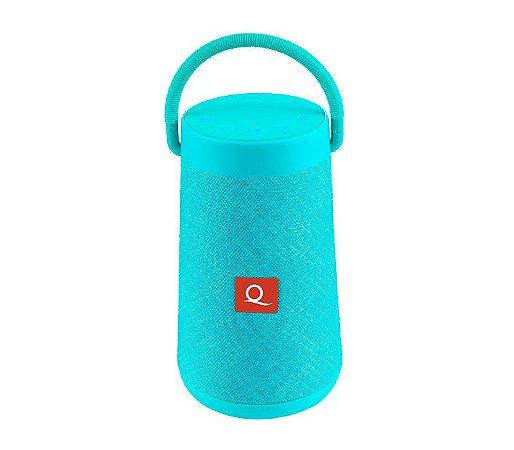 Caixa De Som Bluetooth Quanta Qtspb-42 Turquesa