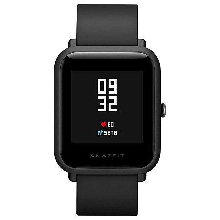 Smartwatch Xiaomi Amazfit Bip preto A1608  Versão Global