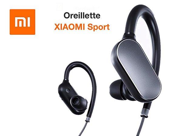 Fone de ouvido Bluetooth Xiaomi Mi Sports YDLYEJ01LM Preto