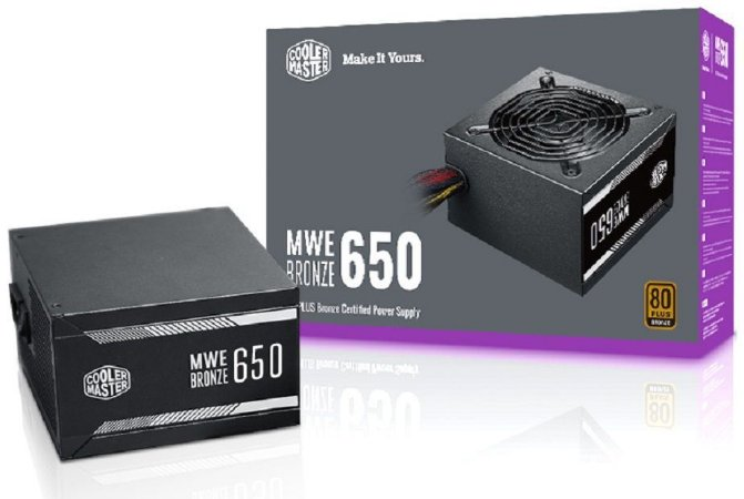 Fonte ATX 650W Real Cooler Master MPX-6501-ACAAB-WO