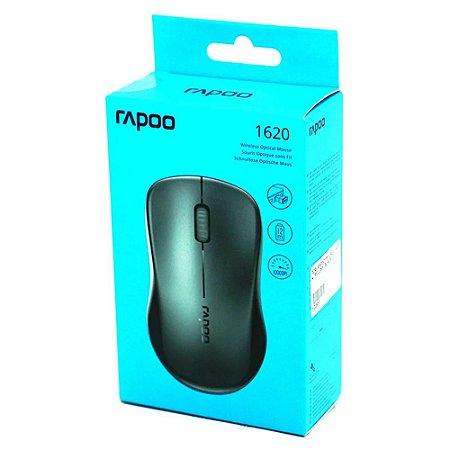 Mouse sem fio Rapoo 1620 preto