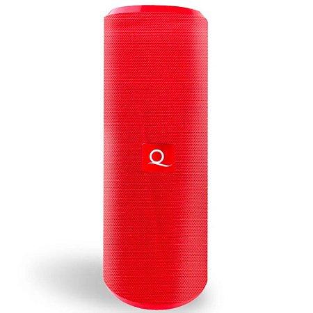 Caixa De Som Bluetooth Quanta Qtspb-30 Vermelha