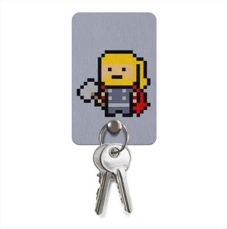 Porta Chaves Ecologico Pixel Thor