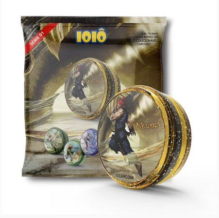 Ioiô Colecionável Oficial Capcom Akuma