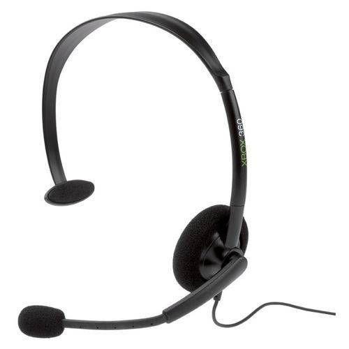 Fone de ouvido monoauricular XBox 360