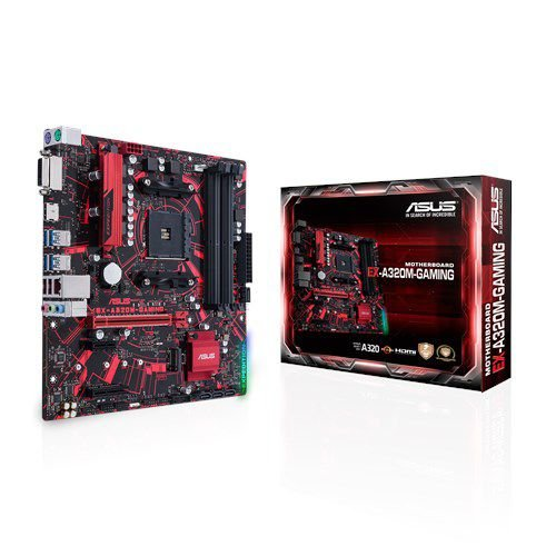 Placa Mãe Asus  EX-A320M-Gaming Socket AM4 Chipset AMD A320