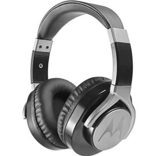 Fone de ouvido Motorola Pulse Max Wired com microfone Preto