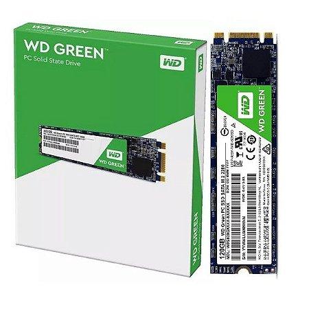 Hd SSD 120gb m.2 Western Digital - (WDS120G2G0B)