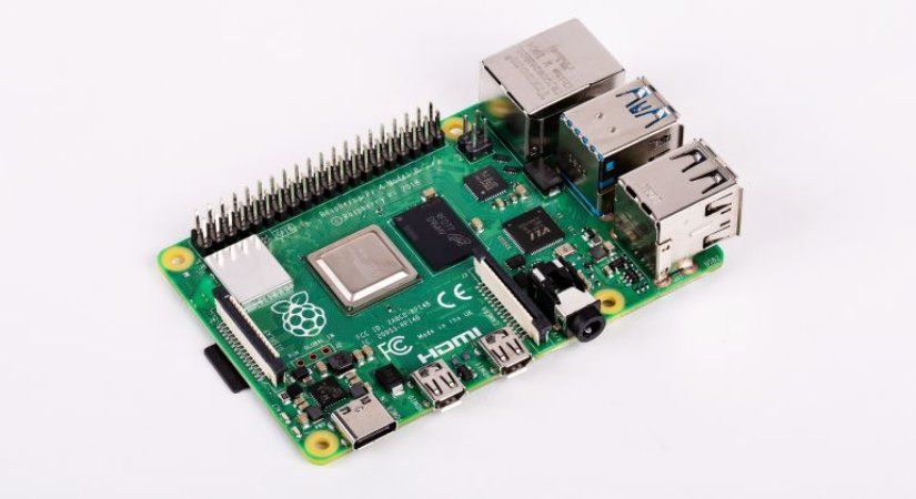 Placa Raspberry PI4 Model B 4gb RAM DDR4