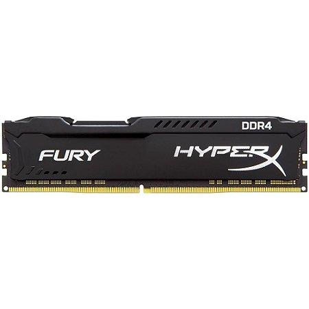 Memória Kingston HyperX 8GB DDR4 3200Mhz HX432C16FB3/8 Black