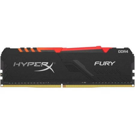 Memória Kingston HyperX 8GB DDR4 3200Mhz HX432C16FB3A/8 RGB