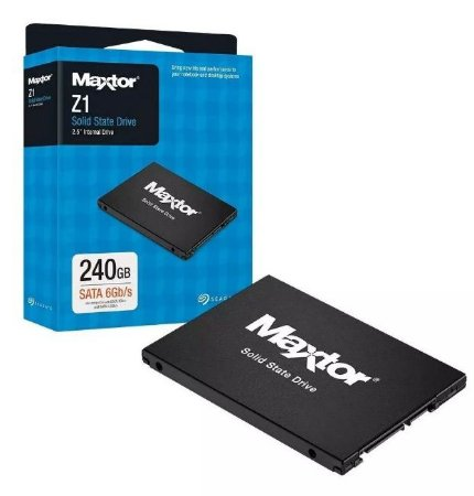 HD SSD 240gb Seagate Maxtor Z1 YA240VC1001