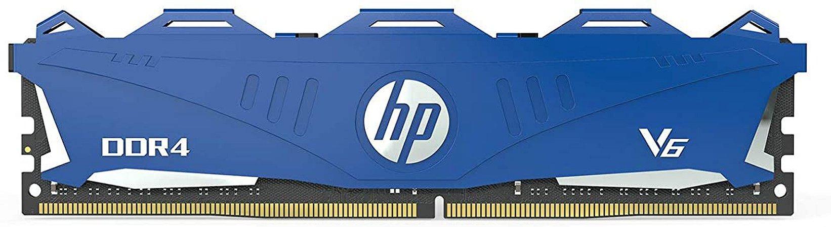 Memória HP V6 Series 8GB DDR4 3000Mhz 7EH64AA - Azul OEM