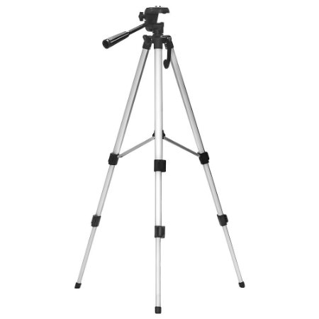 Tripe de Alumínio Profissional universal para Câmera 1,35m e nível