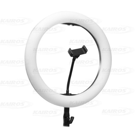 Iluminador Ring Light 14 Polegadas 332 Leds com controle de cor