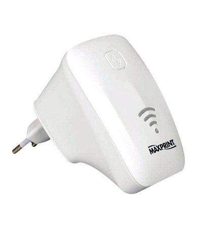 Repetidor de sinal Maxprint 300B Wireless 2Ant. Internas Branco 68292