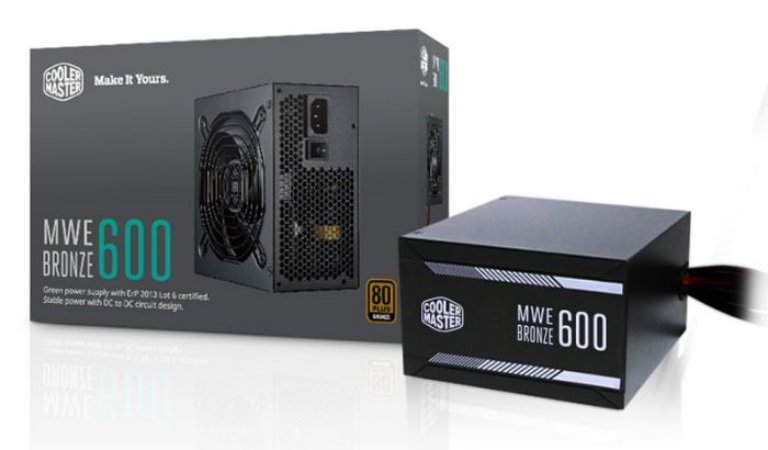Fonte ATX 600W Real Cooler Master - MPX-6001-ACAAB-WO