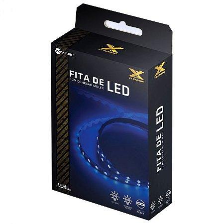 Fita de Led Azul Conexão Molex 60 leds VX Gaming - LAM1