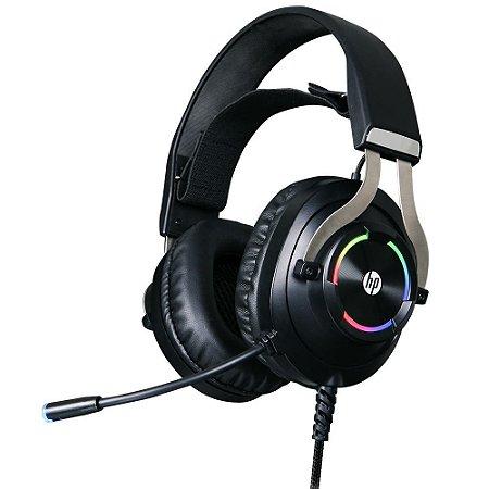 Headset Gamer USB - HP H360GS 7.1 Preto